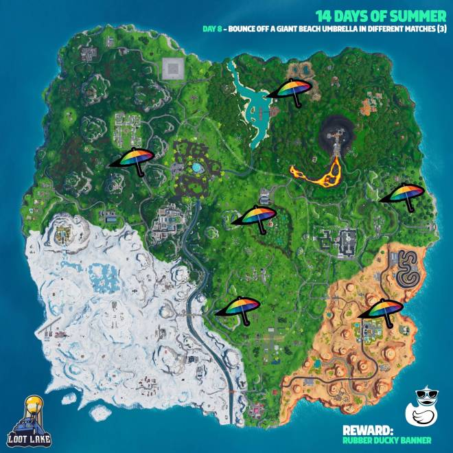Fortnite: Battle Royale - Day 8 Guide (14 Days Of Summer) image 10