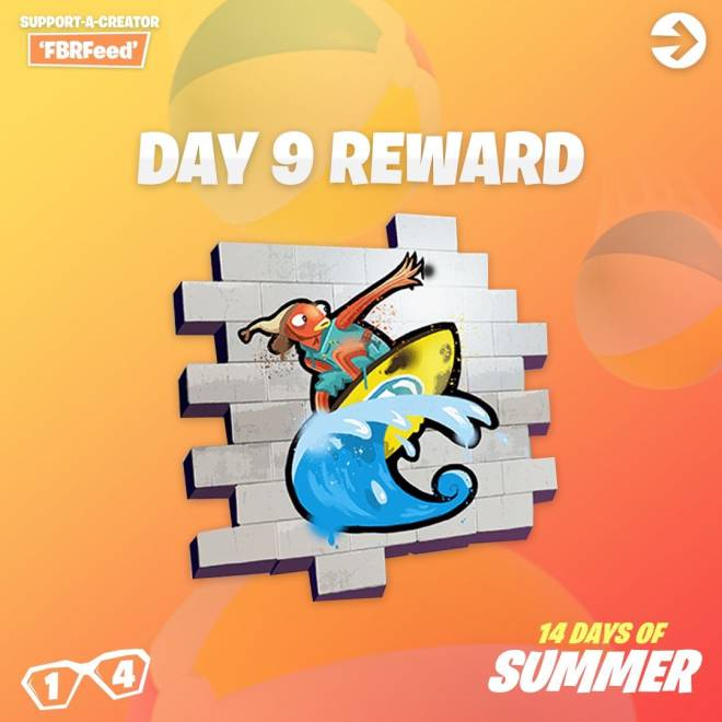 Fortnite: Battle Royale - Day 9 Guide (14 Days Of Summer) image 12