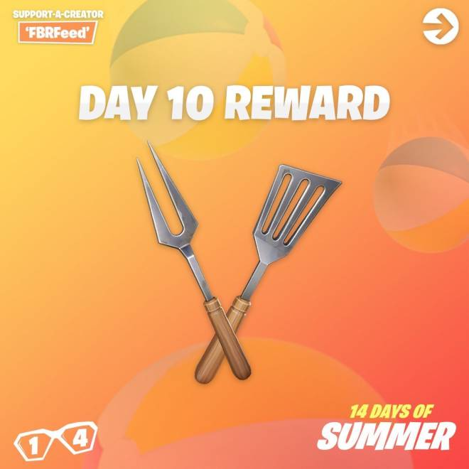 Fortnite: Battle Royale - Day 10 Guide (14 Days Of Summer) image 10