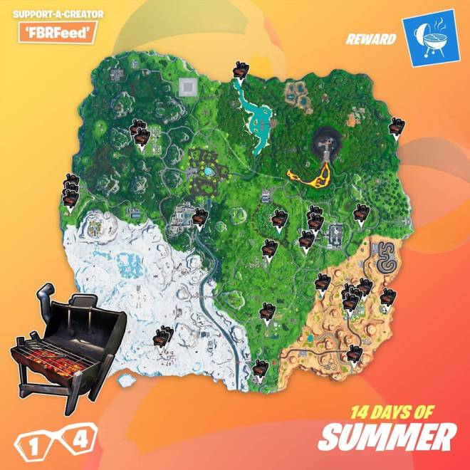 Fortnite: Battle Royale - Day 14 Guide (14 Days Of Summer) image 8