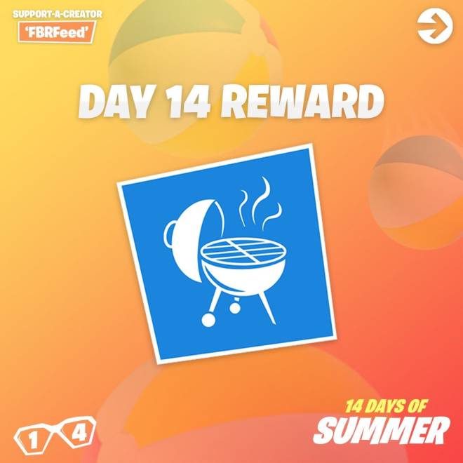Fortnite: Battle Royale - Day 14 Guide (14 Days Of Summer) image 10