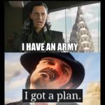 I HAD A PLAN!