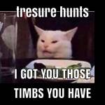 people say treasure hunts are boring:Treasure hunts giving you somthing to do when you beat the game