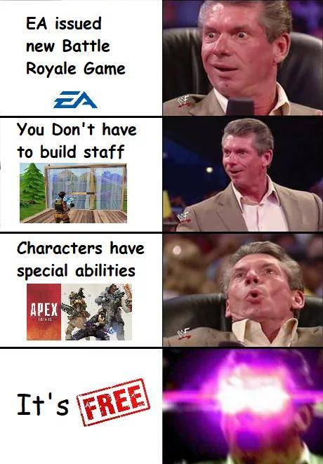 Apex Legends: Memes - Just a little battle royale meme 2... image 2