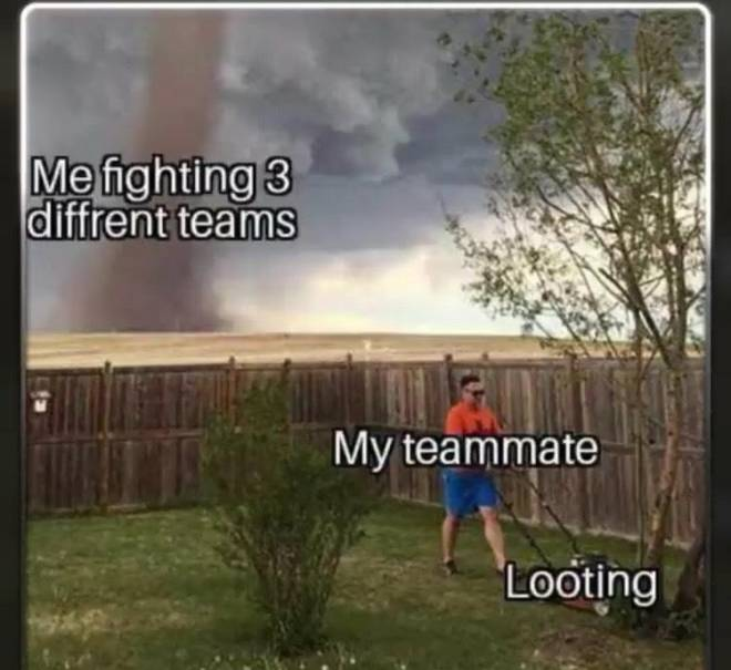 PUBG: General -  literally me 3 second No like literally image 2