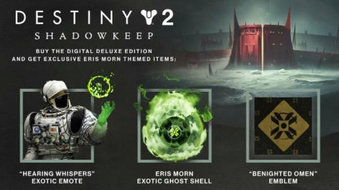 Destiny: General - Preorder Bonuses image 1