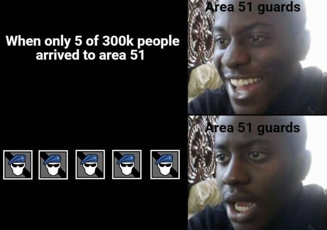 Rainbow Six: Memes - ☢☢☢ AREA 51 ☢☢☢ image 2