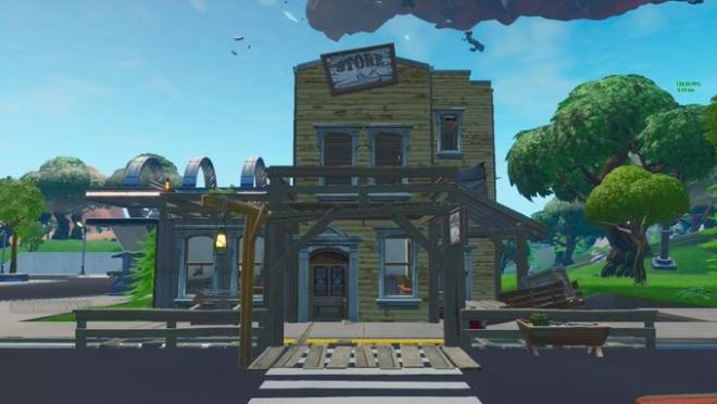 Fortnite: Battle Royale - Leaked images of what the Tilted Town buildings will look like image 2