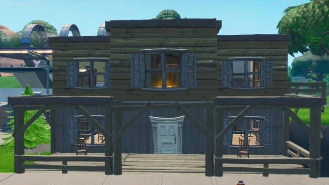 Fortnite: Battle Royale - Leaked images of what the Tilted Town buildings will look like image 3