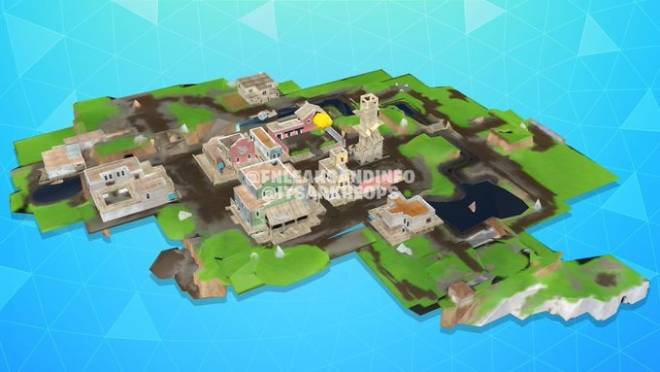 Fortnite: Battle Royale - Leaked images of what the Tilted Town buildings will look like image 7