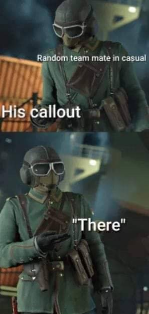 Rainbow Six: Memes - He's right there! image 1
