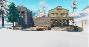 Fortnite: Battle Royale - Leaked images of what the Tilted Town buildings will look like image 4
