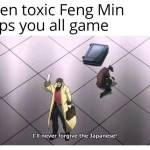 Toxic Feng's are the best Feng's ♡
