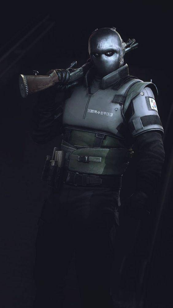 Rainbow Six: Art - *Vigil mains* image 1
