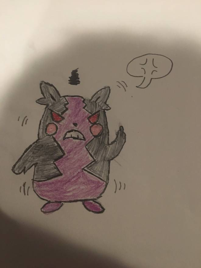 Pokemon: General - Morpeko (hangry mode) image 2
