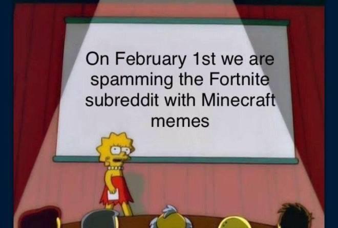 Minecraft: Memes - Minecraft>Forntite image 3