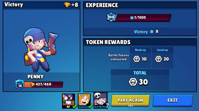 Brawl Stars: General - I Have hit lv. 100, time to keep it going... image 1