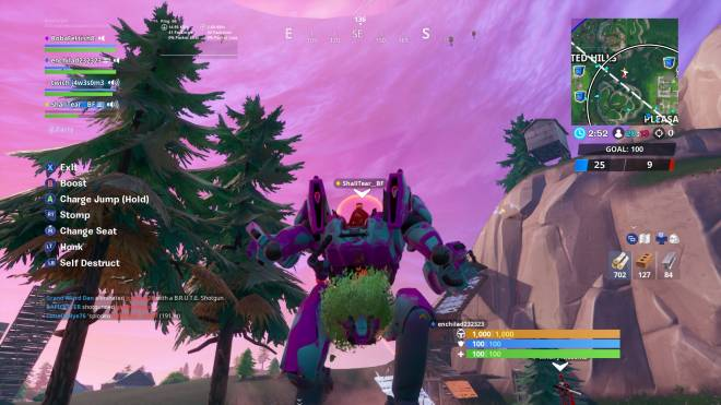 Fortnite: Battle Royale - the only good thing about the Mech 🌳 image 2