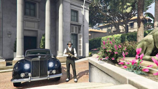 GTA: General - 1930 mafia boss role play🤟🏼🦅✒️ black or white which would you be ? #GTAROLEPLAY image 8
