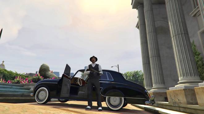 GTA: General - 1930 mafia boss role play🤟🏼🦅✒️ black or white which would you be ? #GTAROLEPLAY image 5