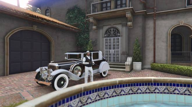 GTA: General - 1930 mafia boss role play🤟🏼🦅✒️ black or white which would you be ? #GTAROLEPLAY image 3
