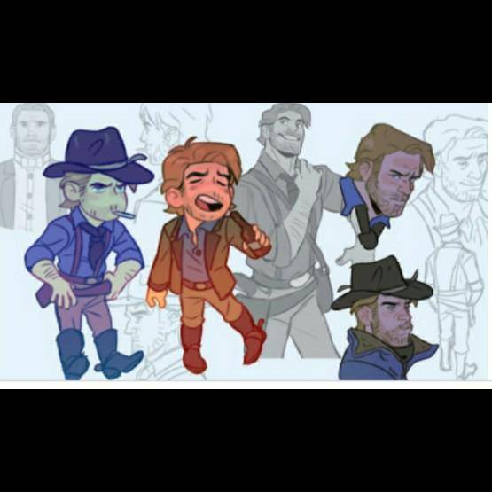 Red Dead Redemption: General - Drew this  image 1