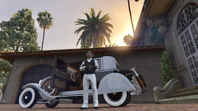 GTA: General - 1930 mafia boss role play🤟🏼🦅✒️ black or white which would you be ? #GTAROLEPLAY image 2