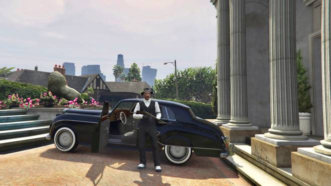 GTA: General - 1930 mafia boss role play🤟🏼🦅✒️ black or white which would you be ? #GTAROLEPLAY image 6