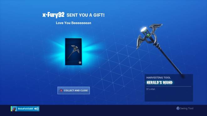 Fortnite: Battle Royale - then Fury did this 😭💛 image 3