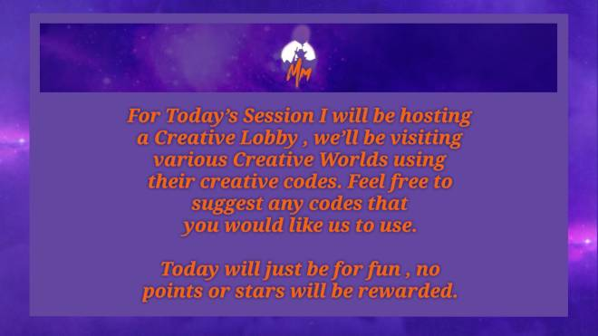 Fortnite: Promotions - MM-64 Spark Event Information : Creative World Session ⛽️🔮〽️〽️ image 6