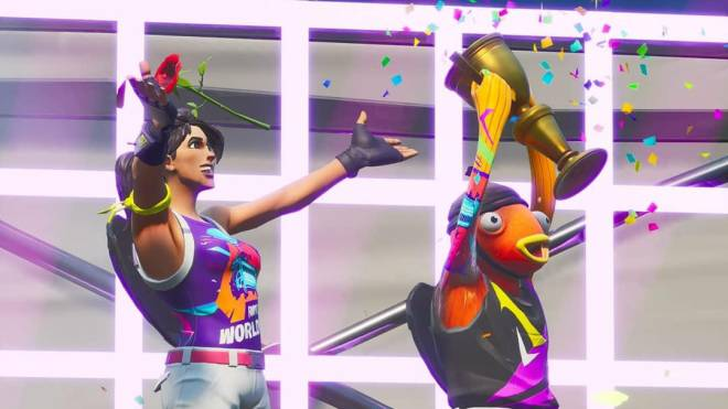 Fortnite: Battle Royale - World Cup Duo (feat. QueenMari2x as FishStick) 🏆✨❗ image 7