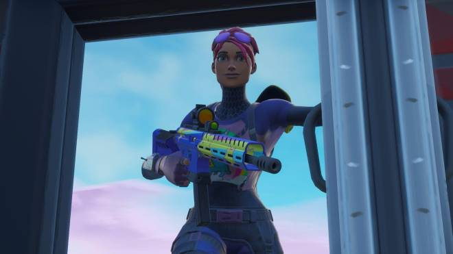 Fortnite: Battle Royale - Sunshine and Rainbows... 🌈💕✨ (Brite Bomber Showcase) image 2