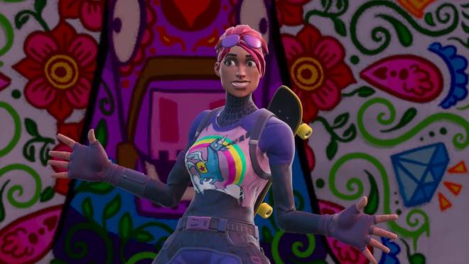 Fortnite: Battle Royale - Sunshine and Rainbows... 🌈💕✨ (Brite Bomber Showcase) image 12