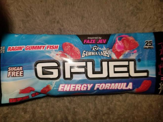 G Fuel: General - About to try this flavor 👌🏽 image 2