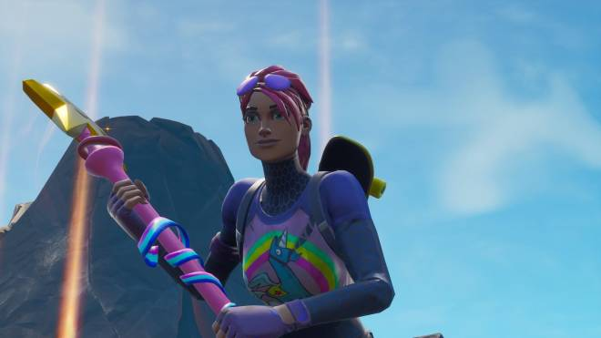 Fortnite: Battle Royale - Sunshine and Rainbows... 🌈💕✨ (Brite Bomber Showcase) image 3