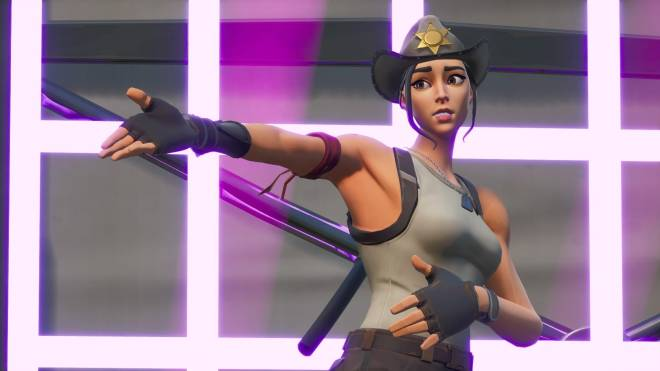 Fortnite: Battle Royale - Tilted Town's Favorite Deputy... 🤠💕✨(Rio Grande Showcase)  image 13