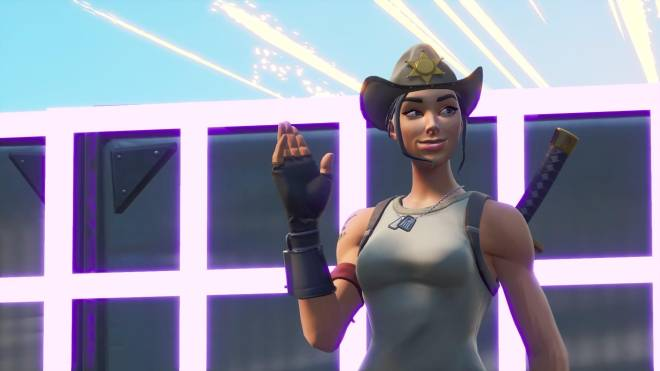 Fortnite: Battle Royale - Tilted Town's Favorite Deputy... 🤠💕✨(Rio Grande Showcase)  image 15