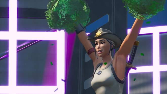 Fortnite: Battle Royale - Tilted Town's Favorite Deputy... 🤠💕✨(Rio Grande Showcase)  image 17