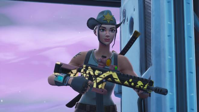 Fortnite: Battle Royale - Tilted Town's Favorite Deputy... 🤠💕✨(Rio Grande Showcase)  image 3