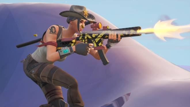 Fortnite: Battle Royale - Tilted Town's Favorite Deputy... 🤠💕✨(Rio Grande Showcase)  image 11