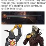 Dark souls PvP invasion in a nut shell