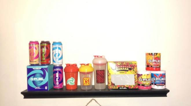 G Fuel: General - Going to need another shelf soon image 1