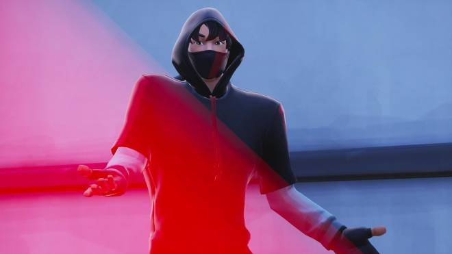 Fortnite: Battle Royale - The center of everyone's attention... 🎤✨❗(Ikonik Showcase)  image 5
