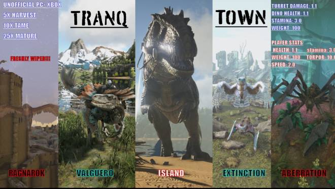 ARK: Survival Evolved: General - Come join pc and xbox only  image 1