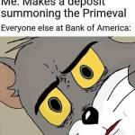 Wrong Bank...