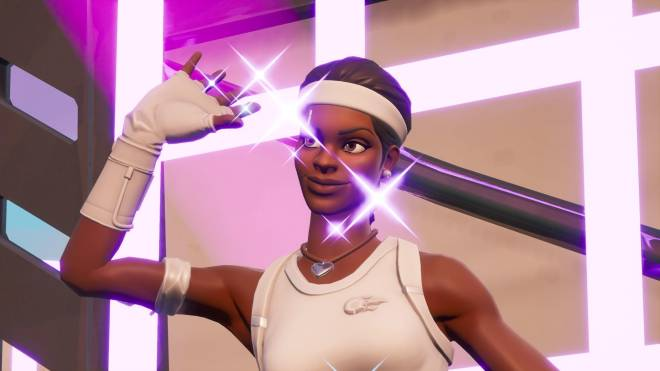 Fortnite: Battle Royale - Tennis, anyone? 🎾💕✨(Match Point Showcase)  image 13