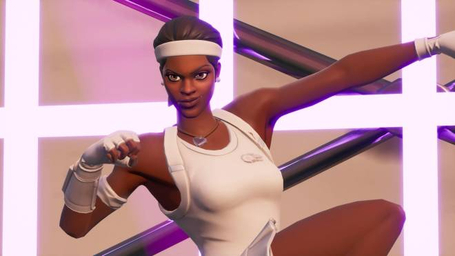 Fortnite: Battle Royale - Tennis, anyone? 🎾💕✨(Match Point Showcase)  image 11