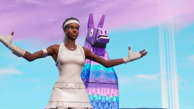 Fortnite: Battle Royale - Tennis, anyone? 🎾💕✨(Match Point Showcase)  image 5