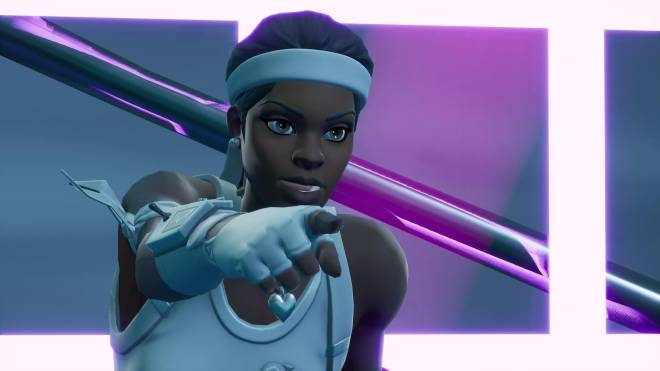 Fortnite: Battle Royale - Tennis, anyone? 🎾💕✨(Match Point Showcase)  image 18