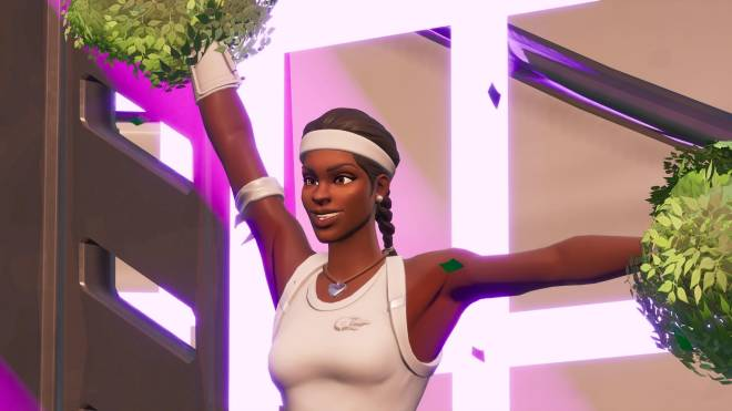 Fortnite: Battle Royale - Tennis, anyone? 🎾💕✨(Match Point Showcase)  image 8